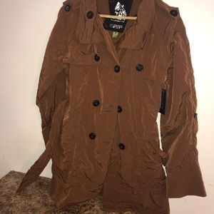 New g.e.t. Outerwear women's trench coat